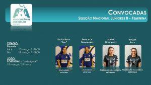 cce89f7440 A Associação de Andebol de Aveiro congratula-se com a convocatória das  atletas do Alavarium Love Tiles